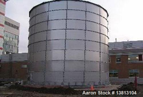 Unused-CST 400,000 Gallon Stainless Steel Storage Tank.  Glass lined, dome aluminum top.  Can be used for bio energy storage...