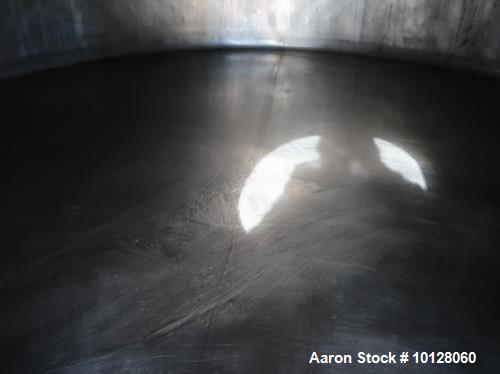 Used- 6000 Gallon Jacketed Dairy Silo Manufactured by DCI