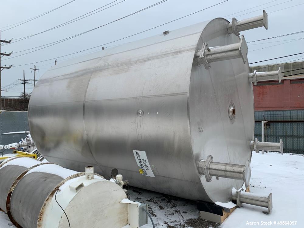 Used- Feldmeier Receiver Tank, Approximate 13,000 Gallon