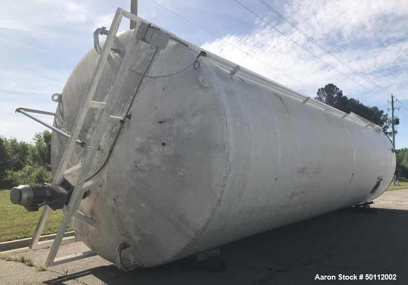 Used- Feldmeier 27,000 Gallon Insulated Silo, 316L Stainless Steel