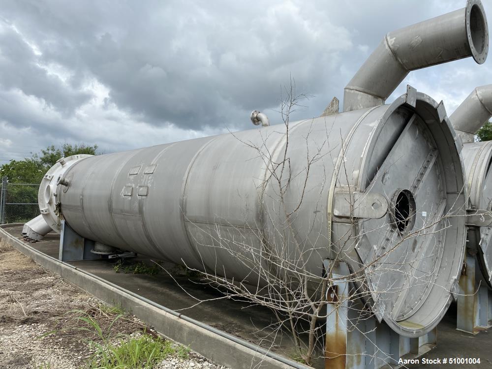 Unused - James Machine Works 8,359 Gallon Stainless Steel Agitated Tank