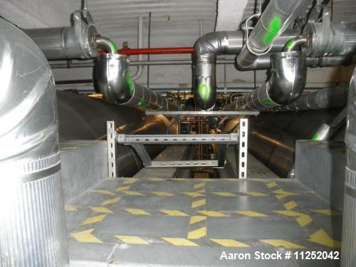 Used- JV Northwest 7,500 Gallon Stainless Steel, Jacketed Pressure Tank, Horizontal Orientation. Measures 7' diameter x 32' ...
