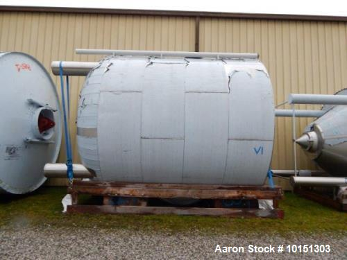 Unused- Approximately 11,750 Gallon (47000 L) Stainless Steel Tank