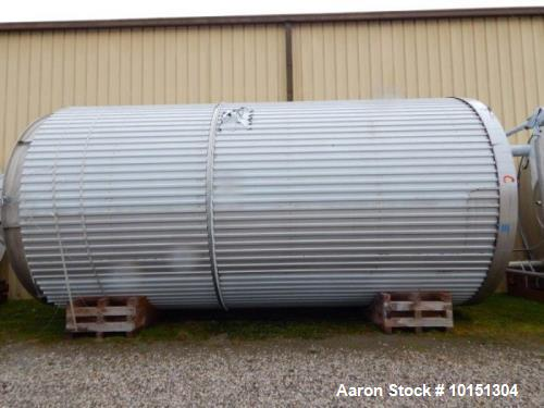 Unused- Approximately 19,000 Gallon (71,700 L) Stainless Steel Jacketed Tank