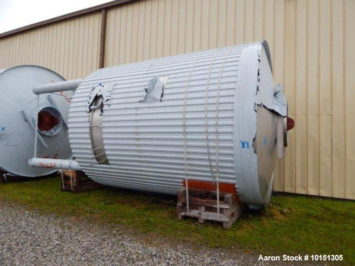 Unused- Approximately 9,600 Gallon (38400 L) Stainless Steel Tank