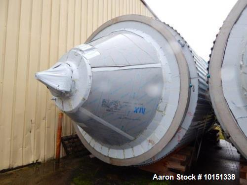 Unused Approximately 19,000 Gallon (71,700 L) Stainless Steel Jacketed Vertical
