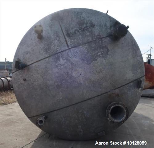 Used- Lowe-Mar 20,000 Gallon Stainless Steel Tank