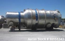 Unused - Praj Industries 14000 Gallon Vertical 316 Stainless Steel Pressure Vess