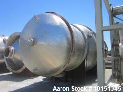 Unused- Praj Industries 15852 Gallon Vertical 316 Stainless Steel Pressure Vess