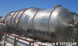 Unused - Praj Industries 15852 Gallon Vertical 316 Stainless Steel Pressure Vess
