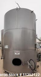 Used- Stainless Steel Tank, 5,215 Gallons