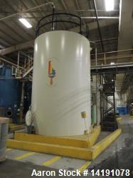 Used 14,000 Gallon Stainless Steel Vertical Tank