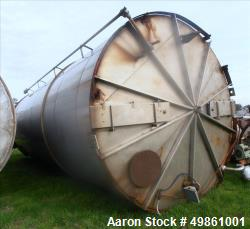Used-Stainless Steel Tank, 12' Diameter x 30' Deep, Rated 25,000 Gal. Capacity, Includes Vartec 2500 Series/Model B Automati...
