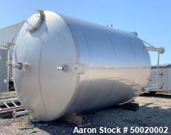 10,000 Gallon Stainless Steel Tank