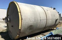 Used- 12,000 Gallon Vertical Stainless Steel Tank