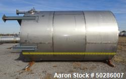 Used- Tank, 8,000 Gallon,304 Stainless Steel, Vertical.