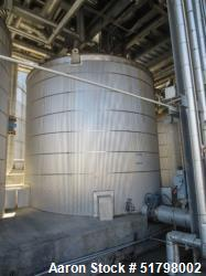 Used-Gilbert Vertical tank, API 650. SS304 rated at 6 in in WC /-10 in in WC psig at 212F. Size is 13 ft dia x ft tall for a...