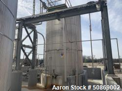 Used- Apache Stainless 8000 Gallon Stainless Steel Insulated Vertical Storage Ta