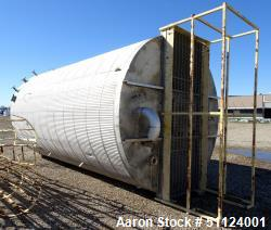 Used- Apache Stainless Equipment 10,000 Gallon 304L Stainless Steel Tank