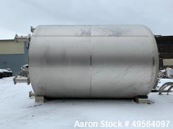 Used- Feldmeier Receiver Tank, Approximate 13,000 Gallon
