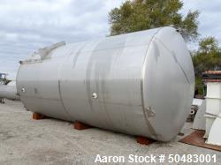 Used- Feldmeier Equipment Co. 10,000 Gallon Silo.