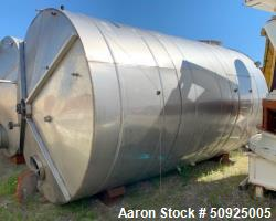 Used- Keller Stainless Steel 8,559 Gallon Storage Tank