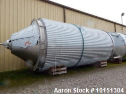 Unused- Approximately 17,925 Gallon (71,700 L) Stainless Steel Jacketed Tank