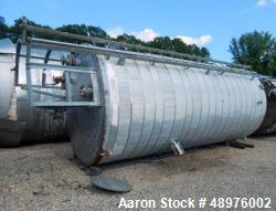 Used- Schmidt 6,500 Gal. Vertical Binder Tank.