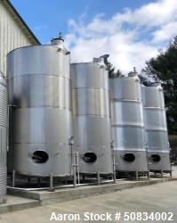 Used- Mueller 6,000 Gallon Stainless Steel Tank,