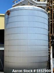 Used- Precision Stainless Agitated Cone Bottom Tank