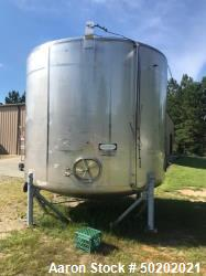 Used-Tri-Canada Inc. Approx. 7000 Gallon 316 SS Storage Tank