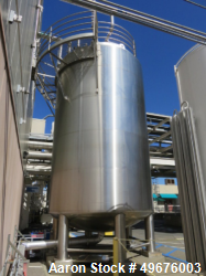 Used- 15,983 Gallon WFI Storage Tank