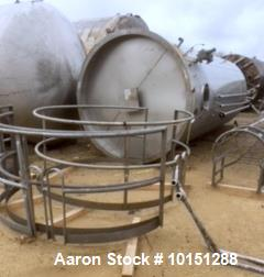 "Used- Mueller 6000 Gallon Vertical Stainless Steel Jacketed Tank. Sanitary polished, interior, 7'4"" diameter x 20' straight ..."