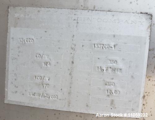 Used- Mueller Sanitary Jacket Vacuum Rated Reactor / Fermenter / Pasteurizer