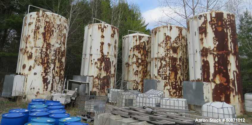 UNUSED- APV Crepaco 10,000 Gallon Mix Tank, 304 Stainless Steel, Vertical.