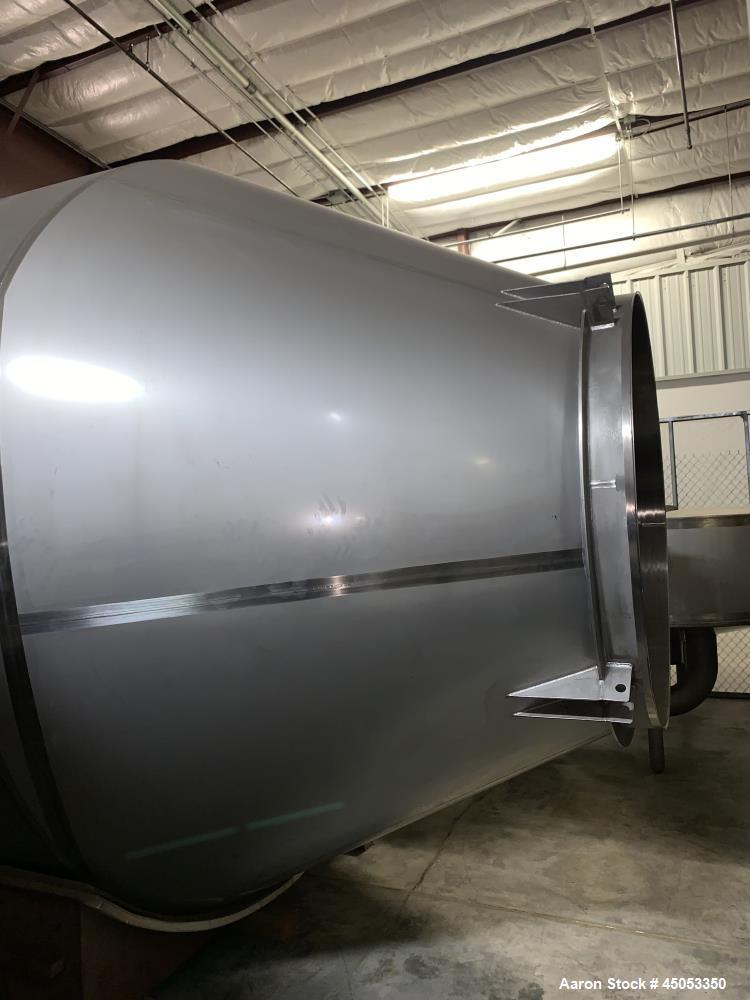 Unused- Nu-Con Powder Silo, 304 Stainless Steel