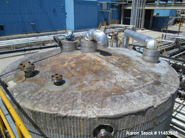 Used- 7,500 Gallon Stainless Steel O'Conner Storage Tank,