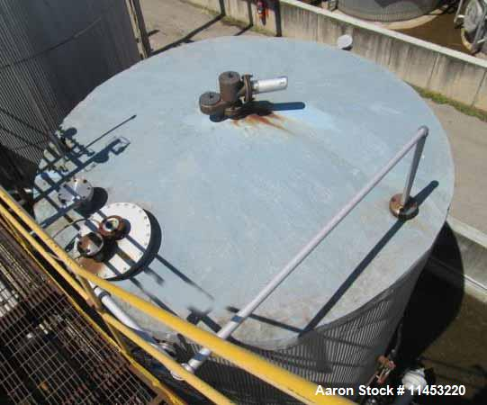 Used- 12,500 Gallon Carbon Steel O'Conner Storage Tank