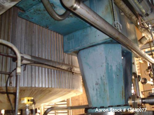 """Used- Stainless Fabrication Inc. Approximately 14,700 Gallon Stainless Steel Vertical Mix Tank. 144"""" diameter x 209"""" high st..."""