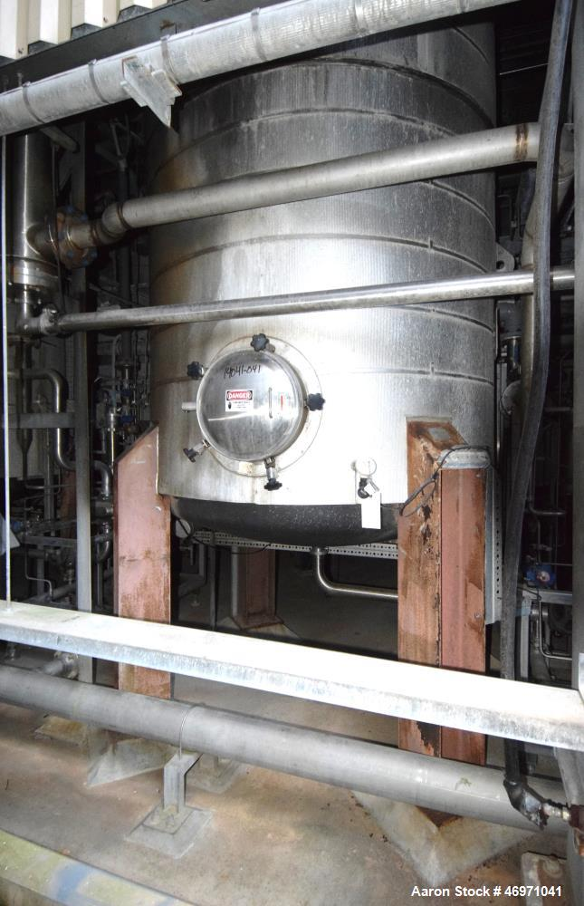 Used- Steel-Pro Pressure Tank, Approximate 6300 Gallons, 304L Stainless Steel