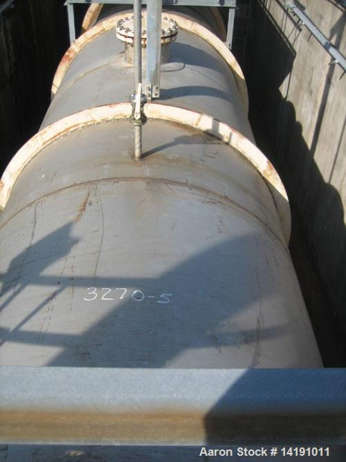 Unused-Used: 45,000 Gallon Struthers Ind. 304L Stainless Steel Horizontal Storage Tank. Max. Pressure F.V. & 100 psi @ 250°F...