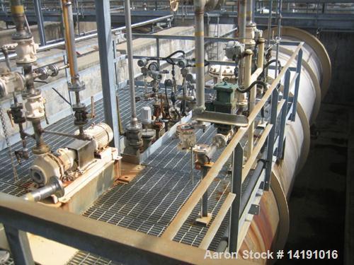 Unused-Used: 45,000 Gallon Struthers Ind. 304L Stainless Steel Horizontal Storage Tank. Max. Pressure F.V. & 100 psi @ 250°F...