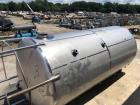 Used-Approximately 20,000 Gallon 304 Stainless Steel Vertical Tank