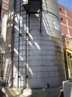 Used- 40,000 Gallon Enerfab Storage Tank. 304L stainless steel construction. Approximately 15' diameter x 30'8