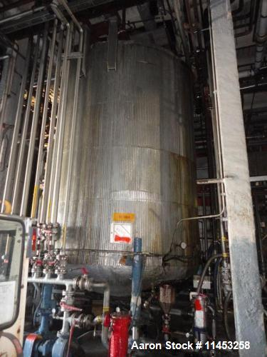 Used- 10,000 Gallon Stainless Steel Jacketed Tank