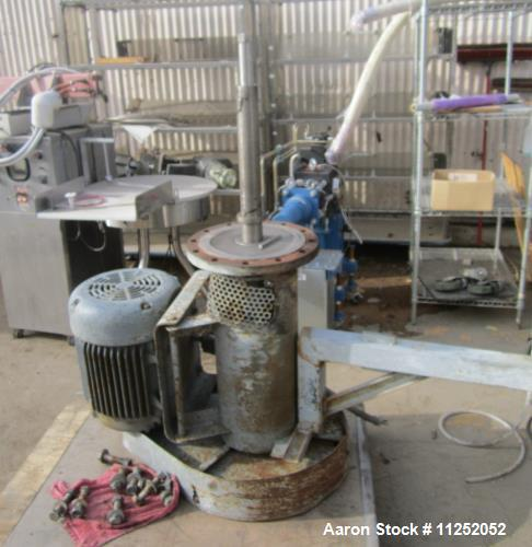 Used- Trumbo Welding Fabricating 13,900 Gallon 304 Stainless Steel Mix Tank.