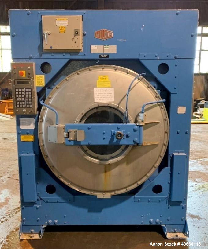Used- Milnor Industrial Washing Machine, Model 42026QHP, 135# capacity. 780 rpm, 480 volt. Serial# 6451301.