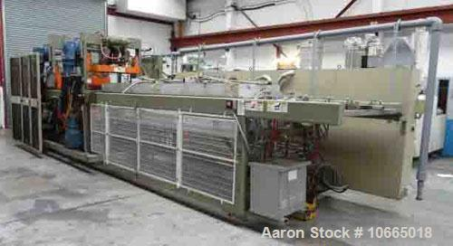"""Used-Brown SR3036 Continuous Thermoformer, 30"""" x 36"""" (762 x 915 mm) forming area, 33"""" (838 mm) sheet width and 6"""" (150 mm) s..."""