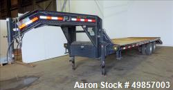 Used- PJ Trailers Mfg, Goose-Neck Trailer.