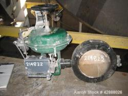 "Unused- Fisher 8"" Diameter Butterfly Valve, Hastelloy D vane material"
